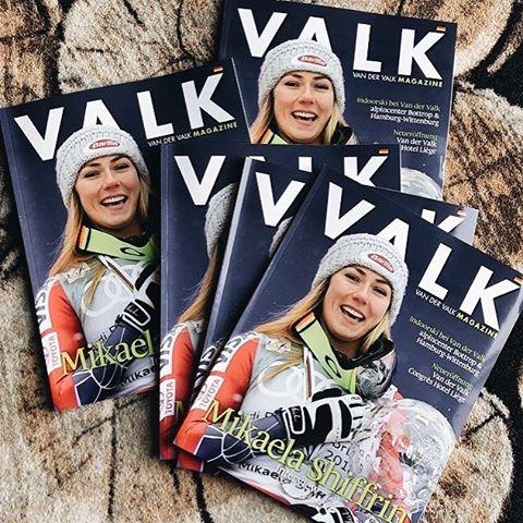 The Secret of Olympic Ski Racer Mikaela Shiffrin  (VALK Magazine)