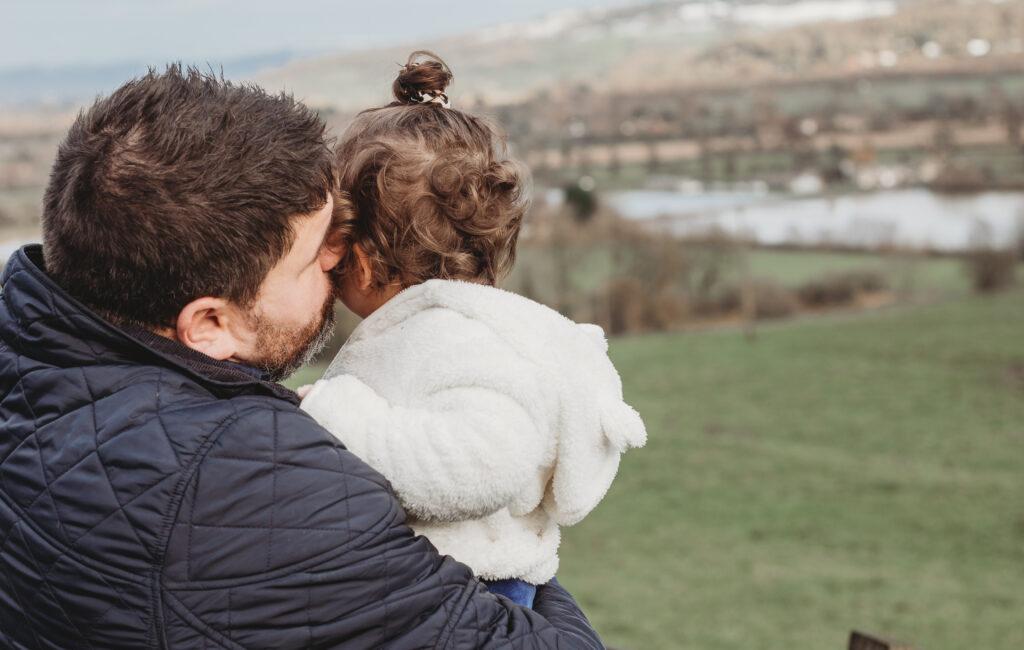 'Onze dochter was de redding voor de postnatale depressie van mijn vrouw' (AD)
